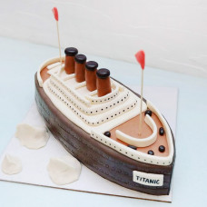 Торт Пароход