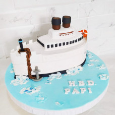 Торт Круизный лайнер