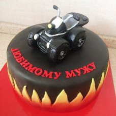 Торт с квадроциклом для мужчины
