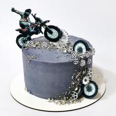 Торт мотогонщику