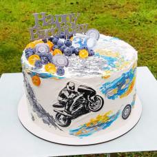 Торт для байкера
