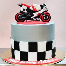 Торт мотоцикл Ямаха
