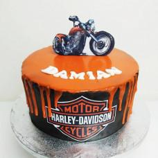 Торт с Харлеем