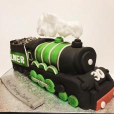Торт в форме поезда