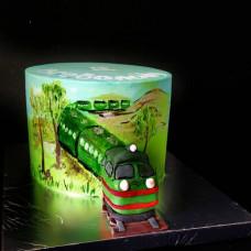 Торт поезд