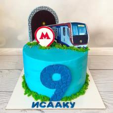 Торт в стиле метро
