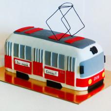 Торт трамвай