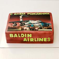 Торт пассажирский самолет