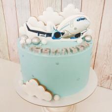 Торт самолет на юбилей
