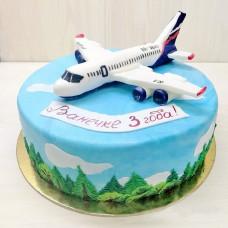 Торт самолет на день рождения