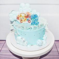 Торт с детским самолетиком