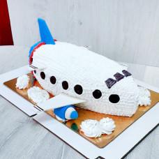 Торт большой самолет