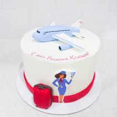 Торт для стюардессы