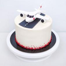 Торт с самолетом для мужчины