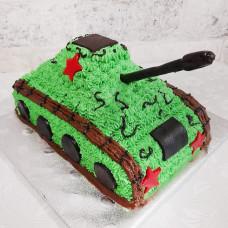 Торт танк без мастики