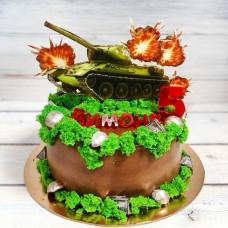 Торт танк Т34