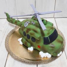 Торт военный вертолет