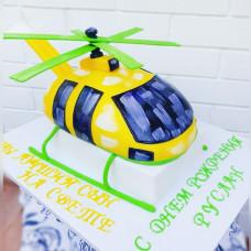 Торт в виде вертолета