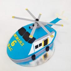 Торт спасательный вертолет