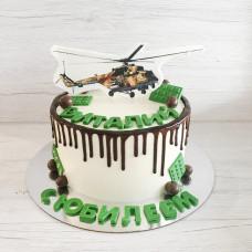 Торт вертолет Команч