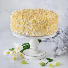 Торт Красный Бархат с белым шоколадом