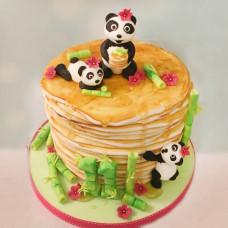 Блинный торт детям