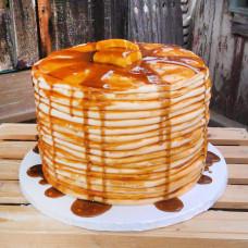 Блинный торт с джемом