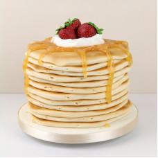 Блинный торт карамельный