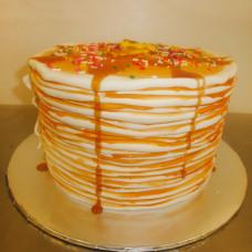 Детский блинный торт