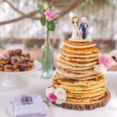 Блинный торт на свадьбу