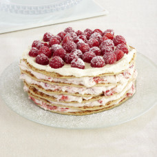 Красивый блинный торт