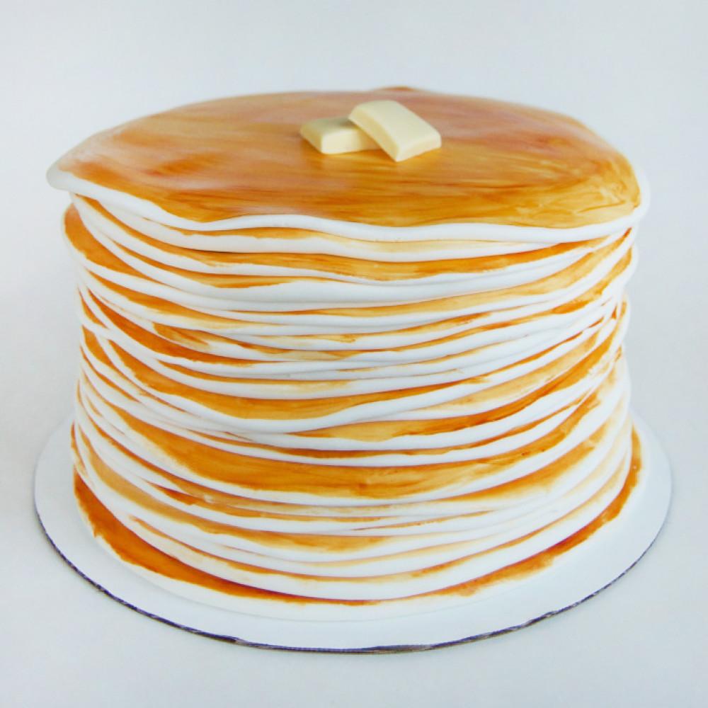 Классический блинный торт