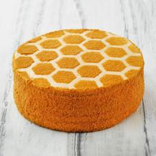 Песочно-медовый торт со сгущенкой