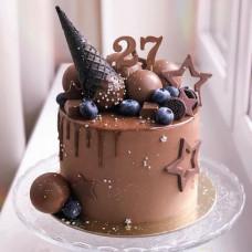 Шоколадный торт мороженое