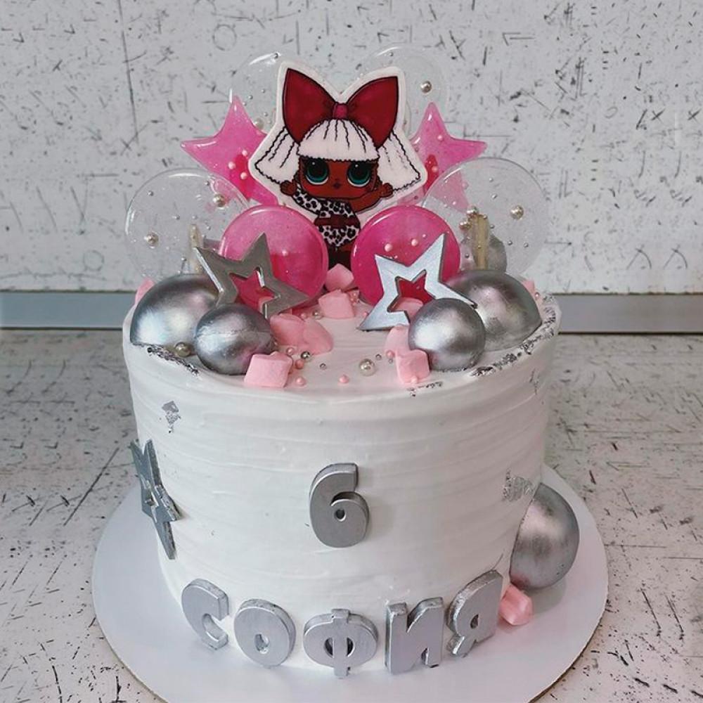 Детский торт мороженое