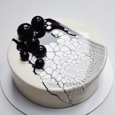Одноярусный муссовый торт