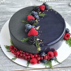 Муссовый торт велюр