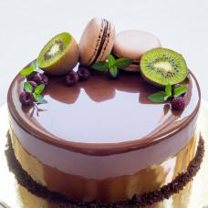Муссовый торт с киви