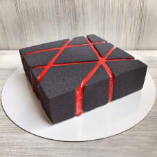 Муссовый квадратный торт