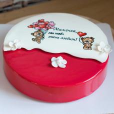Муссовый торт для мамы