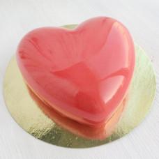 Муссовый торт сердечко