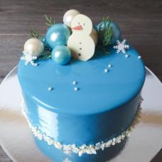 Детский муссовый торт