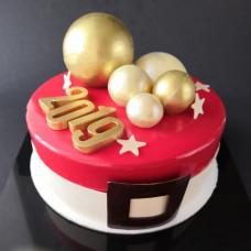 Муссовый торт для мальчика