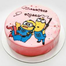 Муссовый торт на годик
