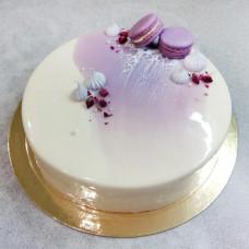 Кокосовый муссовый торт
