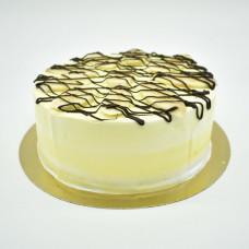Постный банановый торт