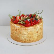 Торт медовый постный