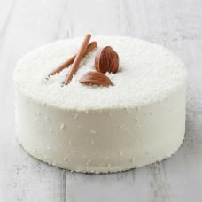 Постный кокосовый торт