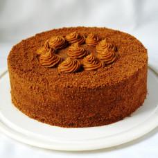 Постный торт какао