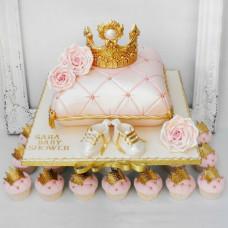 Торт подушка на годик